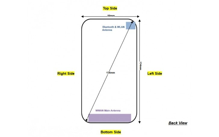Nokia 1 dimensions