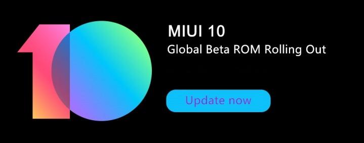 Miui 10 global beta ROM 8.12.27